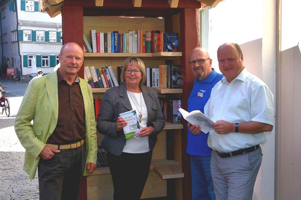Markgröningen aktiv spendet Bücherschrank | Foto: Markgröningen aktiv