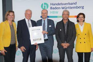 Verleihung Stadtmarketing-Preis 2019 des Handelsverbands Baden-Württemberg in Stuttgart