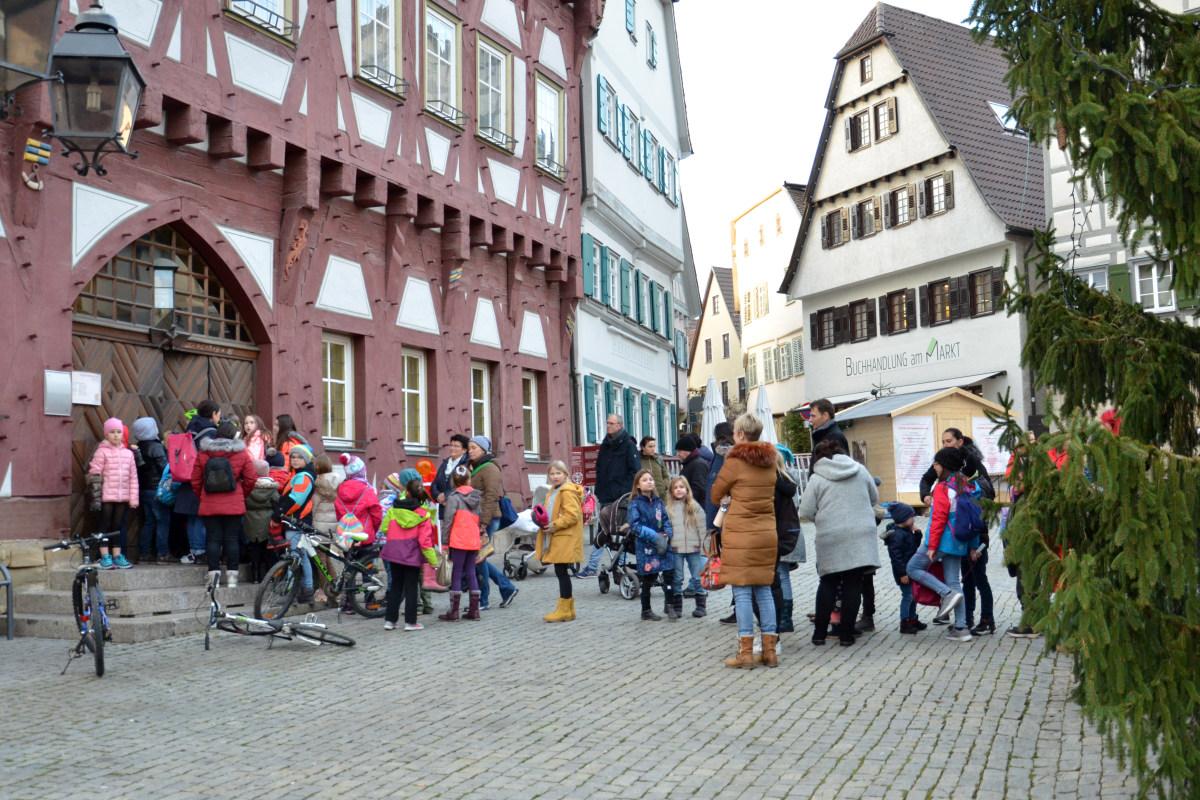 Aktion Nikolausstiefel 2019 organisiert von Markgröningen aktiv