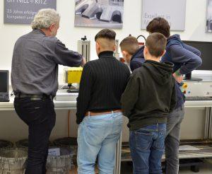 Projekt Schule Unternehmen bei Nill + Ritz in Markgröningen